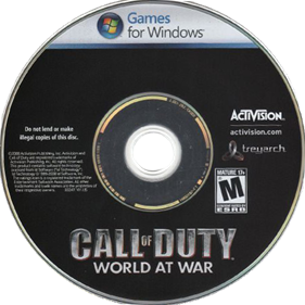 Call of Duty: World at War - Cart - Front