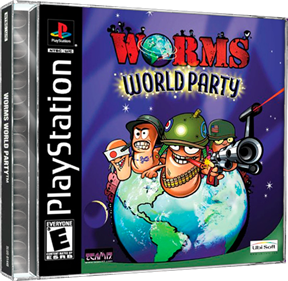 Worms World Party - Box - 3D