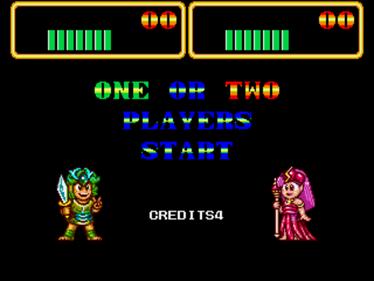 Wonder Boy III: Monster Lair - Screenshot - Game Select