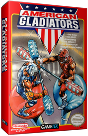 American Gladiators - Box - 3D