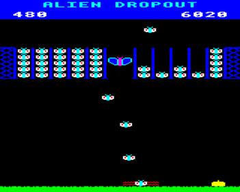 Alien Dropout - Screenshot - Gameplay