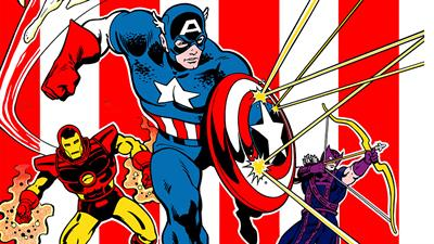 Captain America and the Avengers - Fanart - Background