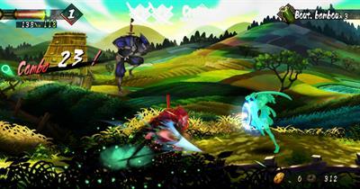 Muramasa: The Demon Blade - Screenshot - Gameplay