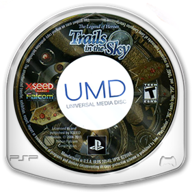 The Legend of Heroes: Trails in the Sky - Disc