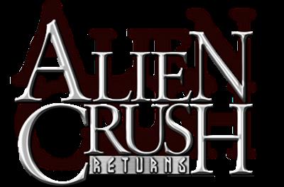 Alien Crush Returns - Clear Logo