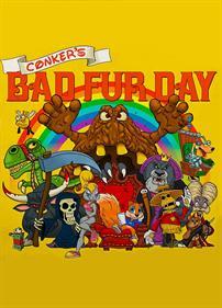Conker's Bad Fur Day - Fanart - Box - Front