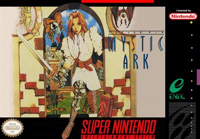 Mystic Ark - Fanart - Box - Front
