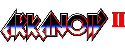 Arkanoid II: Revenge of Doh - Clear Logo