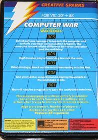 Computer War - Box - Back