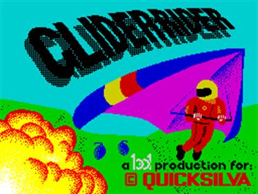 Glider Rider - Screenshot - Game Title