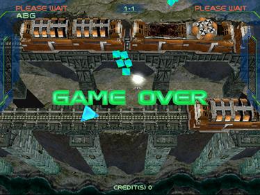 Zero Gunner 2 - Screenshot - Game Over