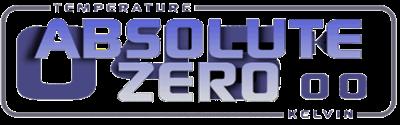 Absolute Zero - Clear Logo