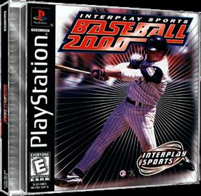 Interplay Sports Baseball 2000 - Box - 3D