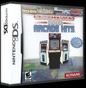 Konami Classics Series: Arcade Hits - Box - 3D
