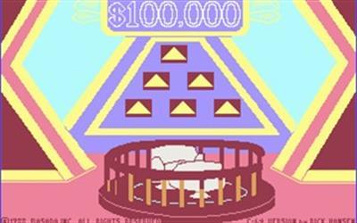 The $100,000 Pyramid - Screenshot - Game Title