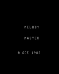 Melody Master - Screenshot - Game Title