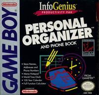 InfoGenius Productivity Pak: Personal Organizer and Phone Book