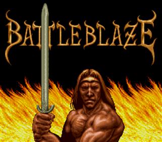 Battle Blaze - Screenshot - Game Title