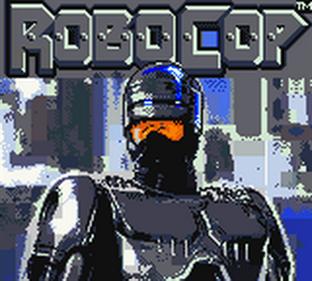 RoboCop - Screenshot - Game Title