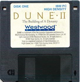 Dune II: The Building of a Dynasty - Disc