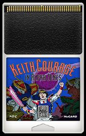 Keith Courage in Alpha Zones - Fanart - Cart - Front