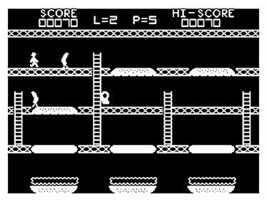 Barmy Burgers - Screenshot - Gameplay