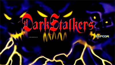 Darkstalkers: The Night Warriors - Arcade - Marquee