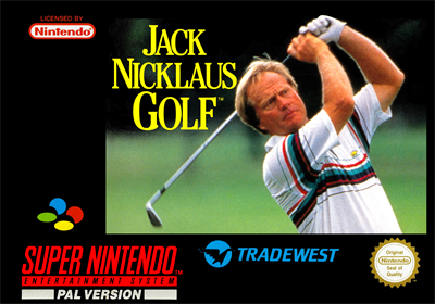 Jack Nicklaus Golf - Box - Front