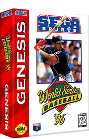 World Series Baseball '96 - Box - 3D