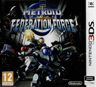 Metroid Prime: Federation Force - Box - Front
