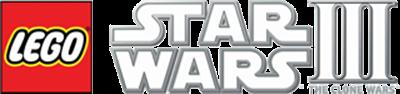 LEGO Star Wars III: The Clone Wars - Clear Logo