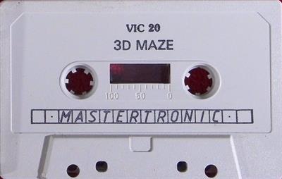 3D Maze (Mastertronic) - Cart - Front
