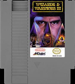 Wizards & Warriors III: Kuros ...Visions of Power - Cart - Front