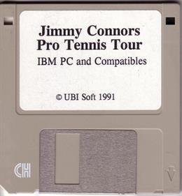 Jimmy Connors Pro Tennis Tour - Disc