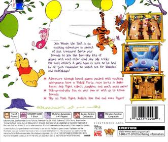 Disney's Party Time with Winnie The Pooh - Box - Back