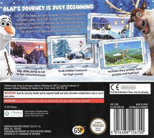 Disney Frozen: Olaf's Quest - Box - Back