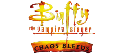 Buffy the Vampire Slayer: Chaos Bleeds - Clear Logo