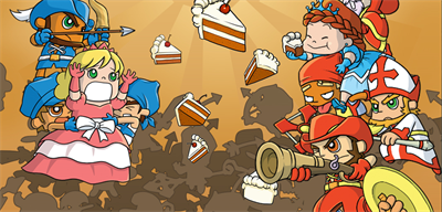 Fat Princess: Fistful of Cake - Fanart - Background