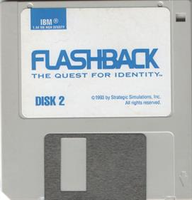 Flashback: The Quest for Identity - Disc