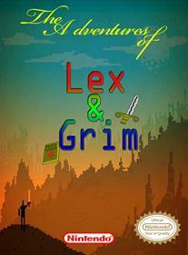 The Adventures of Lex & Grim - Fanart - Box - Front