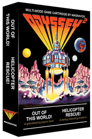 Out of this World / Helicopter Rescue - Box - 3D