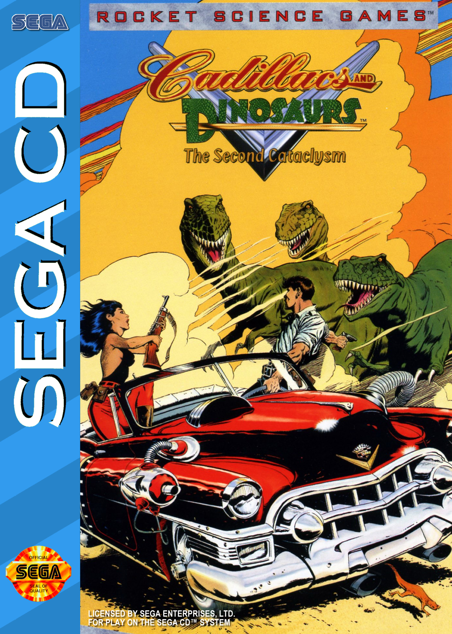 Cadillacs and Dinosaurs: The Second Cataclysm Details - LaunchBox Games Database