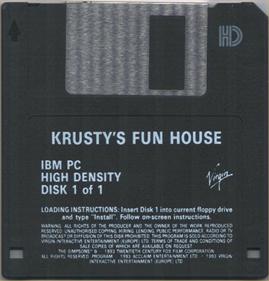 Krusty's Fun House - Disc