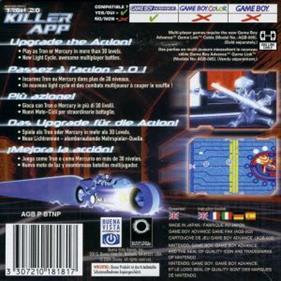 Tron 2.0: Killer App - Box - Back