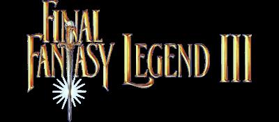 Final Fantasy Legend III - Clear Logo