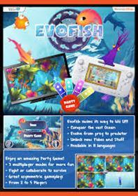 EvoFish - Advertisement Flyer - Front