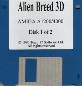 Alien Breed 3D - Disc