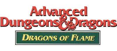 Dragons of Flame - Clear Logo