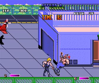 Double Dragon II: The Revenge - Screenshot - Gameplay