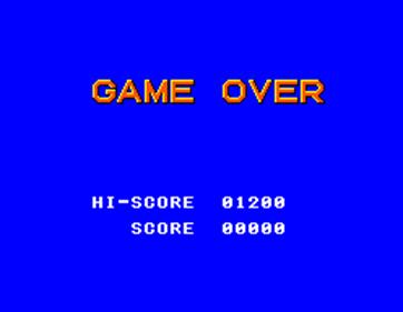 Alex Kidd in Shinobi World - Screenshot - Game Over